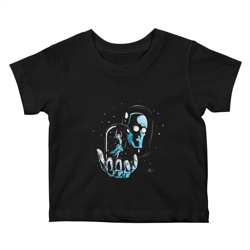 Frozen in Time Kids Baby T-Shirt by Gil's Artist Shop