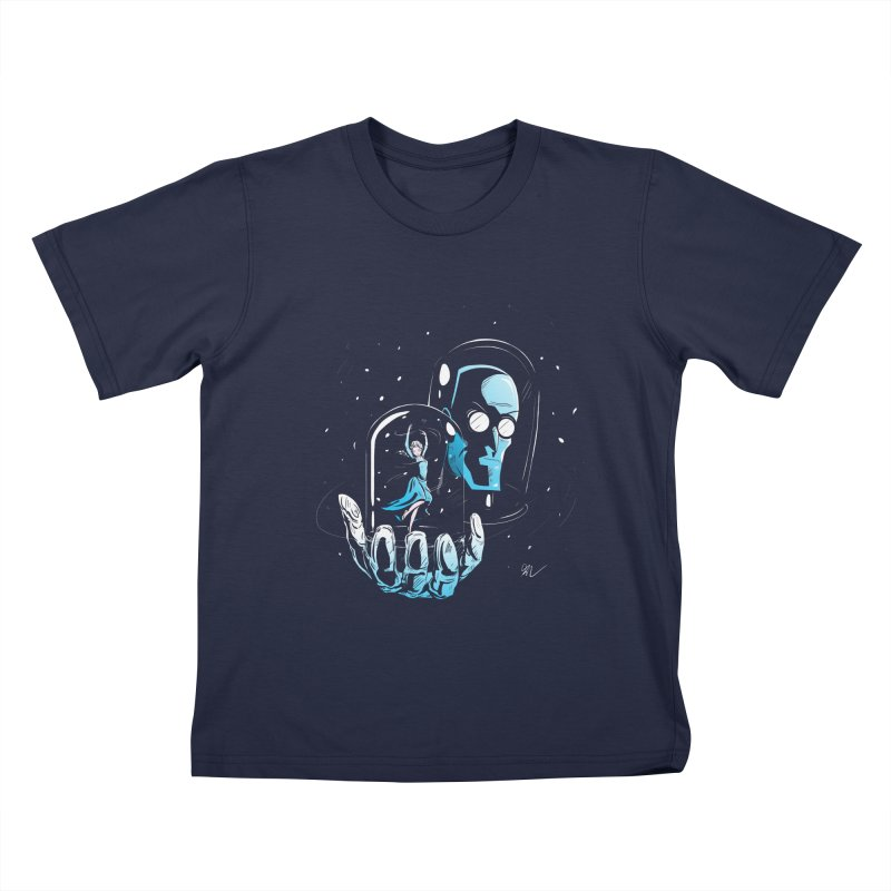 Frozen in Time Kids T-Shirt by Gil's Artist Shop