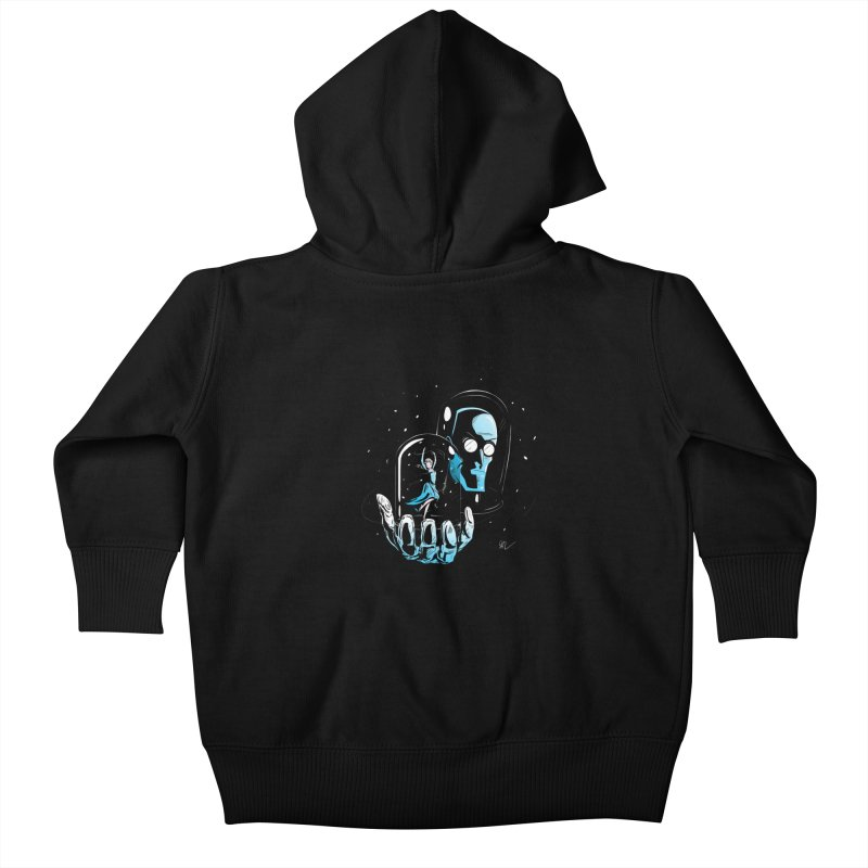Frozen in Time Kids Baby Zip-Up Hoody by Gil's Artist Shop