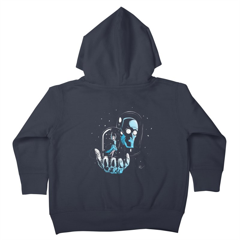 Frozen in Time Kids Toddler Zip-Up Hoody by Gil's Artist Shop