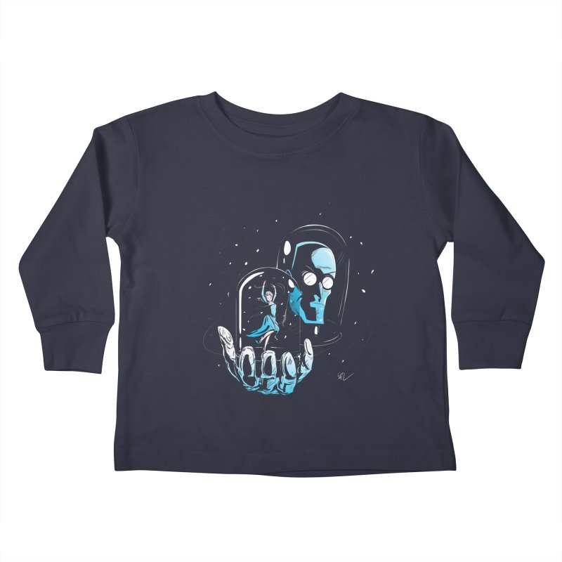 Frozen in Time Kids Toddler Longsleeve T-Shirt by Gil's Artist Shop