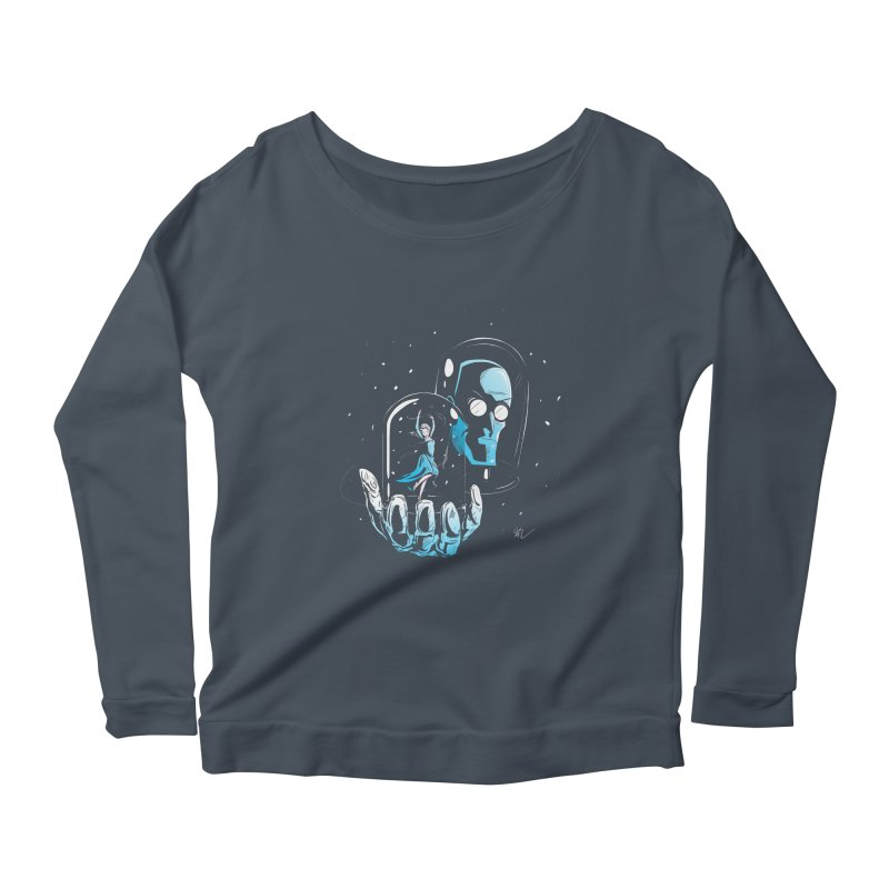 Frozen in Time Women's Longsleeve Scoopneck  by Gil's Artist Shop