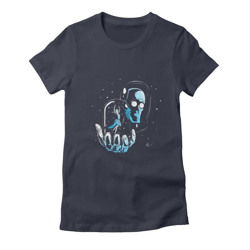 Frozen in Time Women's Fitted T-Shirt by Gil's Artist Shop