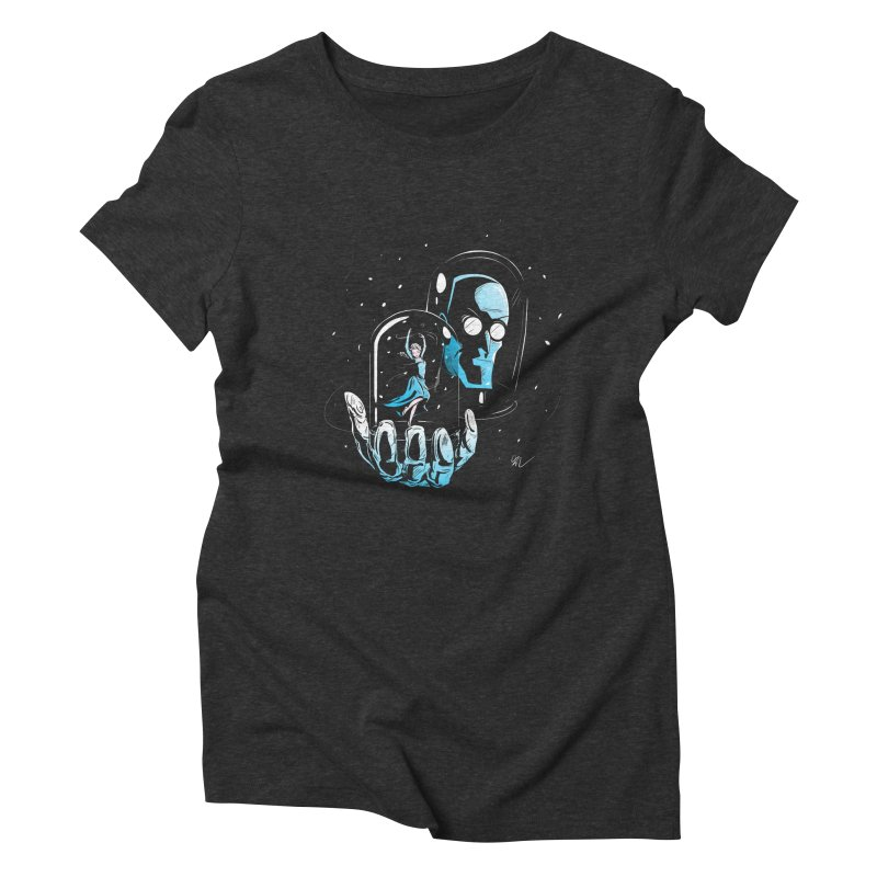 Frozen in Time Women's Triblend T-Shirt by Gil's Artist Shop