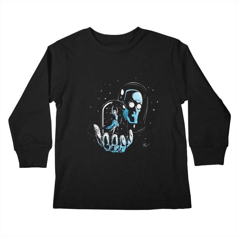 Frozen in Time Kids Longsleeve T-Shirt by Gil's Artist Shop