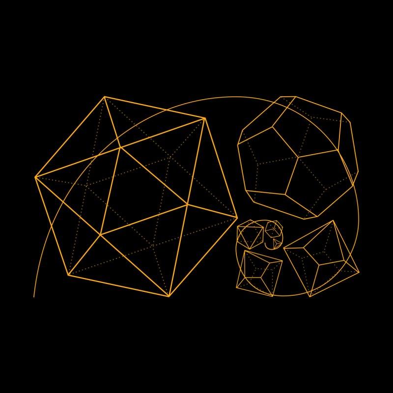 Golden Ratio Dice - Dark by GildingLight's Artist Shop