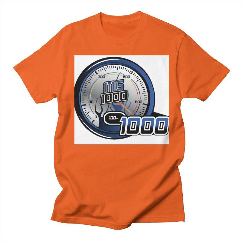 Logo Men's Regular T-Shirt by Ginotopia
