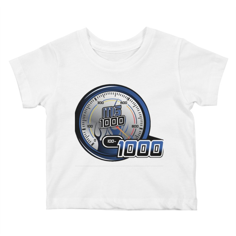 Logo Kids Baby T-Shirt by Ginotopia