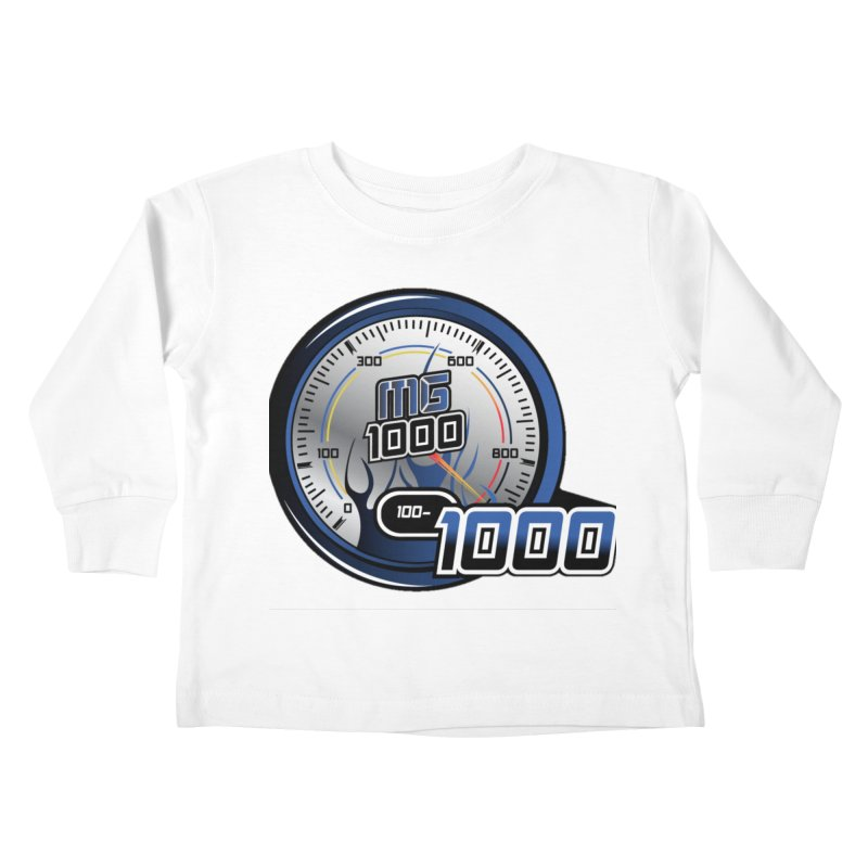 Logo Kids Toddler Longsleeve T-Shirt by Ginotopia