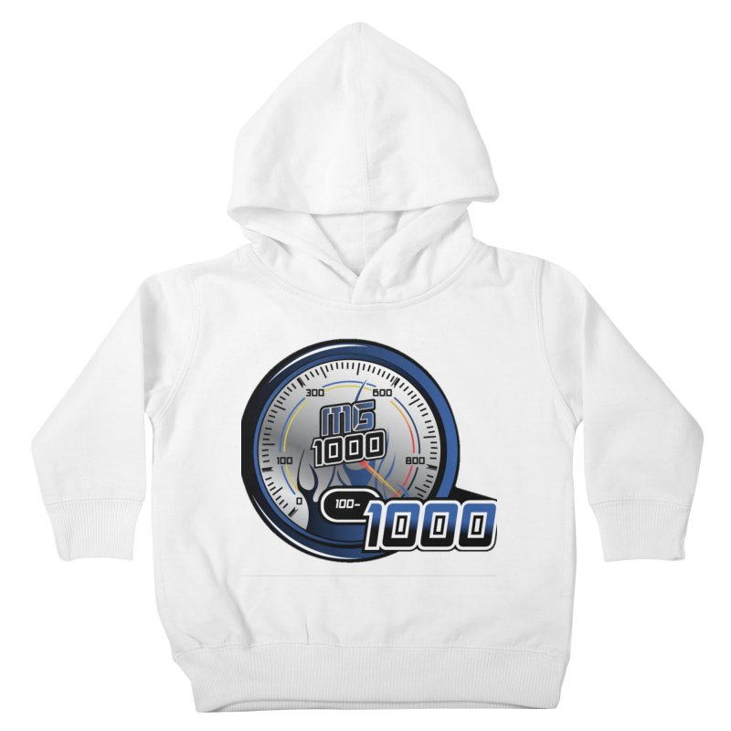 Logo Kids Toddler Pullover Hoody by Ginotopia