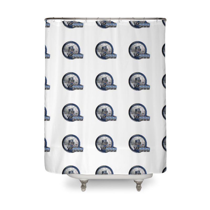 Grid Home Shower Curtain by Ginotopia