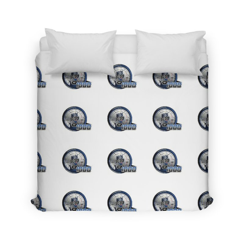 Grid Home Duvet by Ginotopia