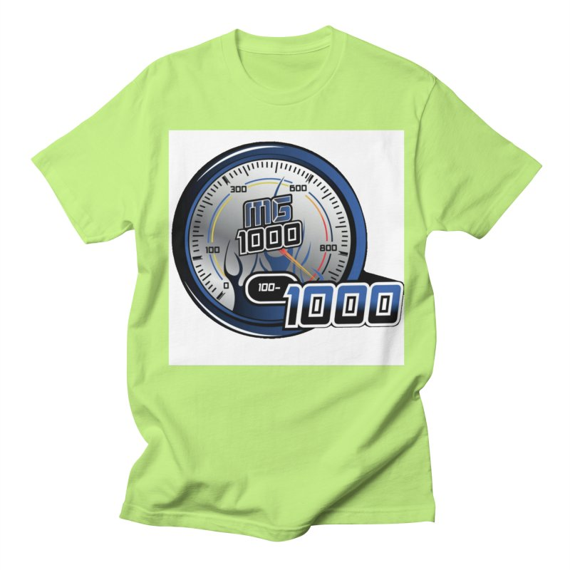 1000 Men's Regular T-Shirt by Ginotopia