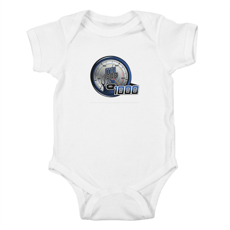1000 Kids Baby Bodysuit by Ginotopia