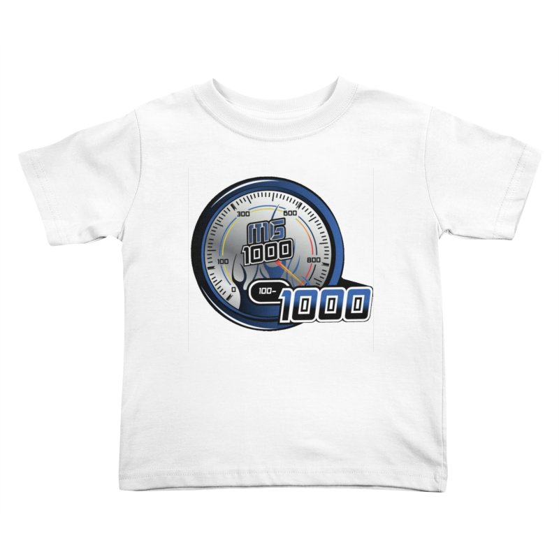 1000 Kids Toddler T-Shirt by Ginotopia