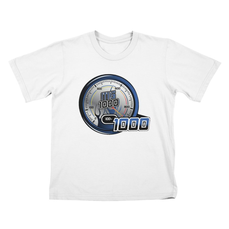 1000 in Kids T-Shirt White by Ginotopia