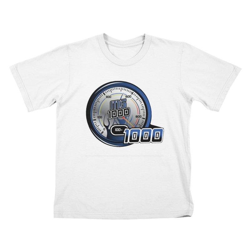 1000 Kids T-Shirt by Ginotopia