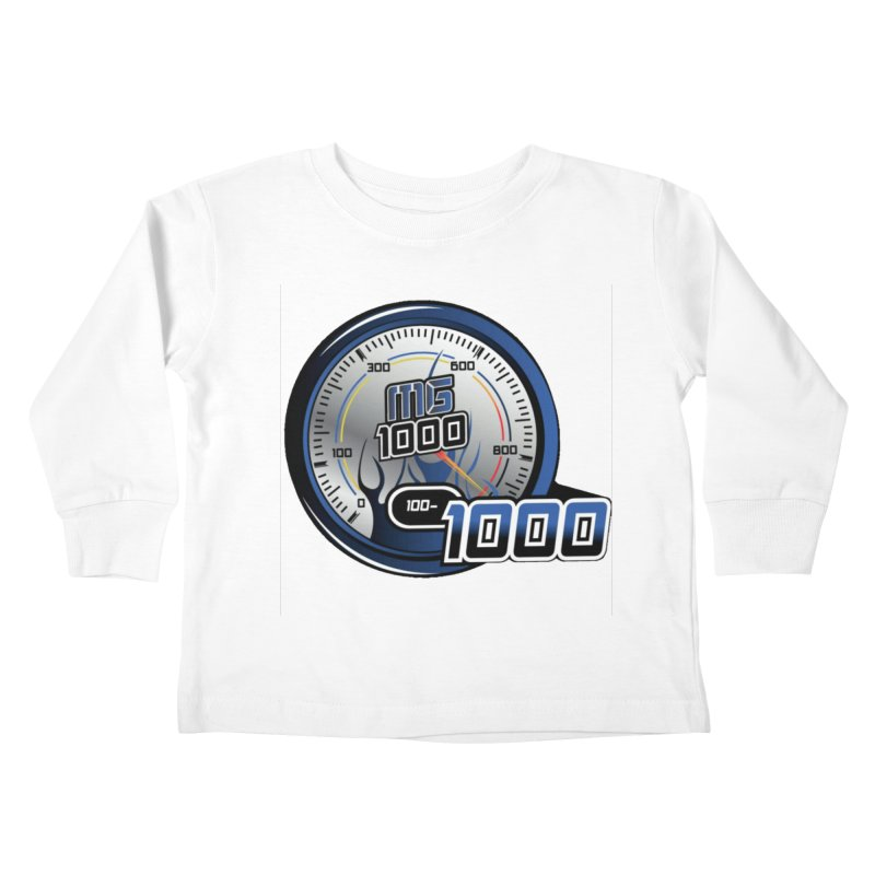 1000 Kids Toddler Longsleeve T-Shirt by Ginotopia