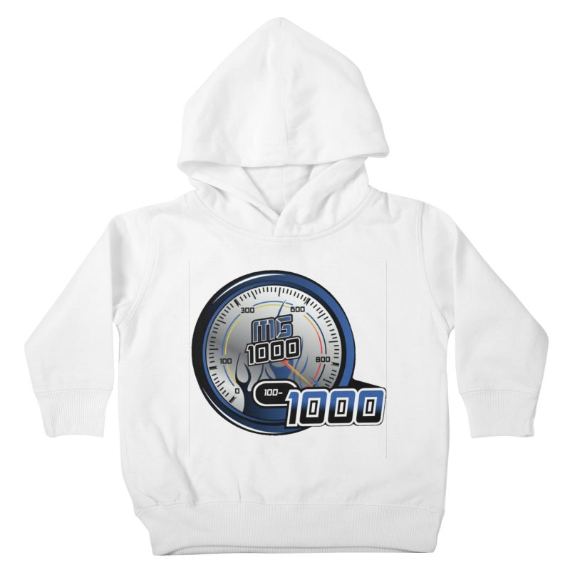 1000 Kids Toddler Pullover Hoody by Ginotopia