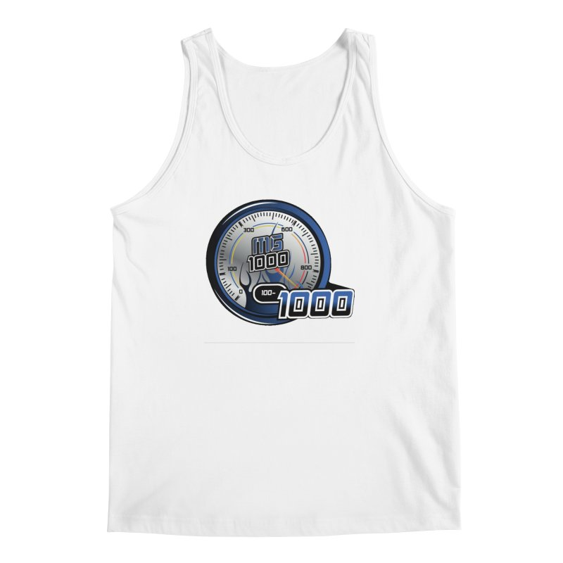 1000 Men's Regular Tank by Ginotopia