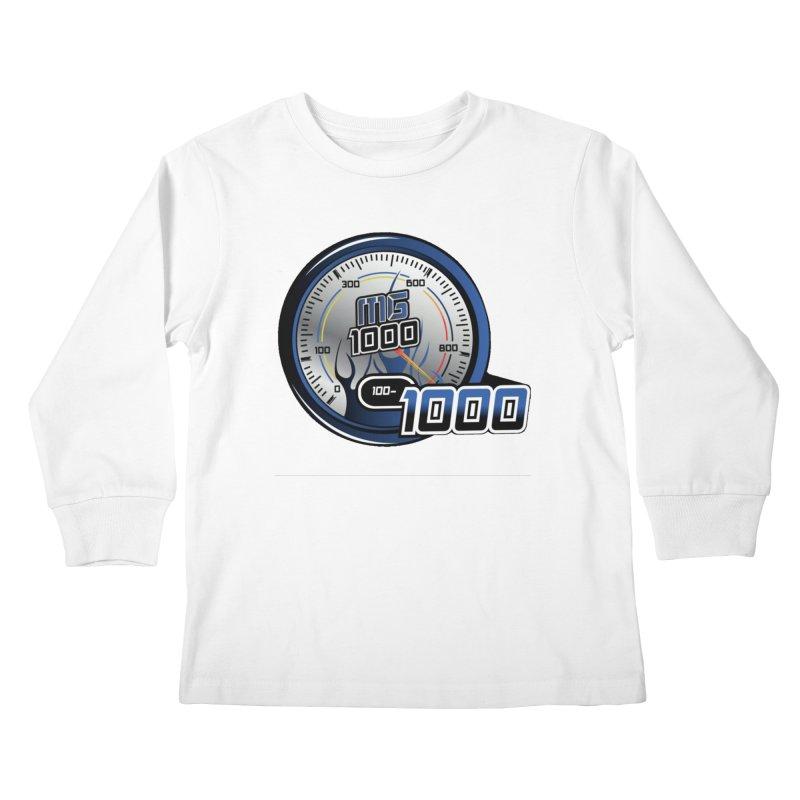 1000 Kids Longsleeve T-Shirt by Ginotopia