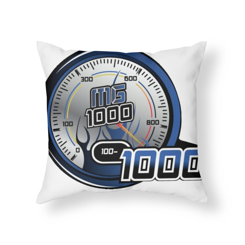 1000 Home Throw Pillow by Ginotopia