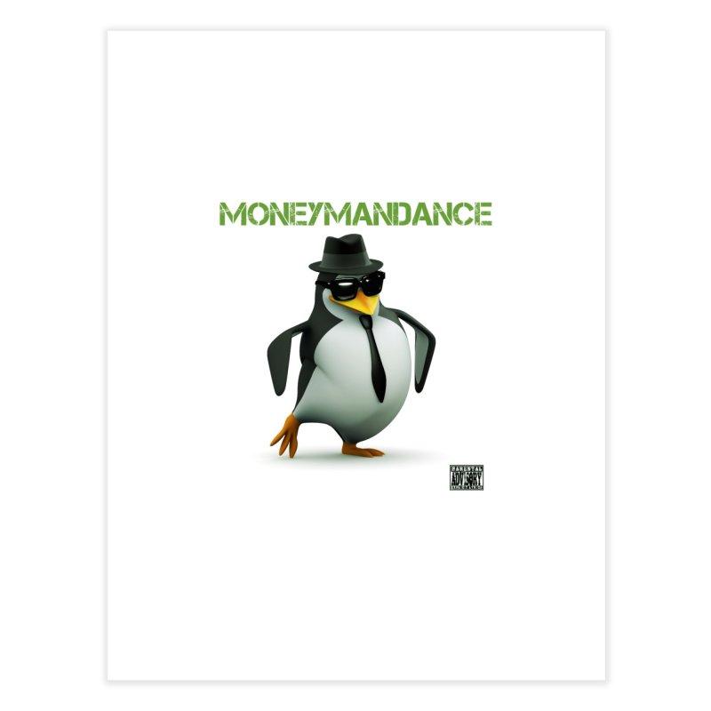 #MoneymanDance Home Fine Art Print by Ginotopia