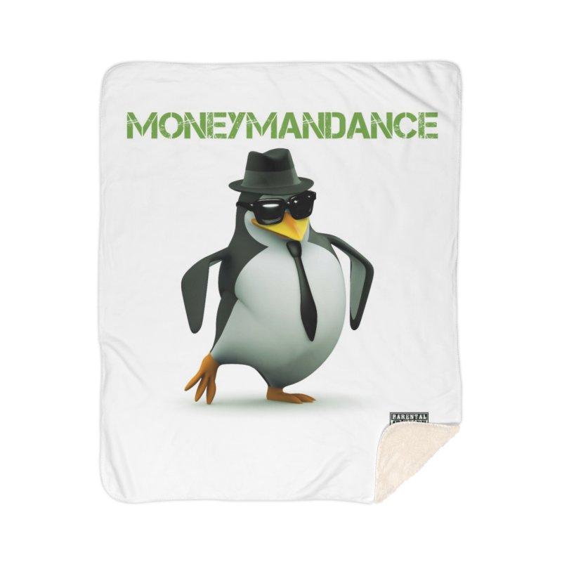 #MoneymanDance Home Sherpa Blanket Blanket by Ginotopia