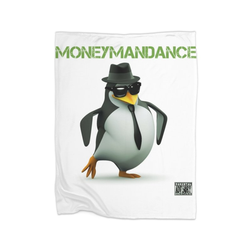 #MoneymanDance Home Fleece Blanket Blanket by Ginotopia