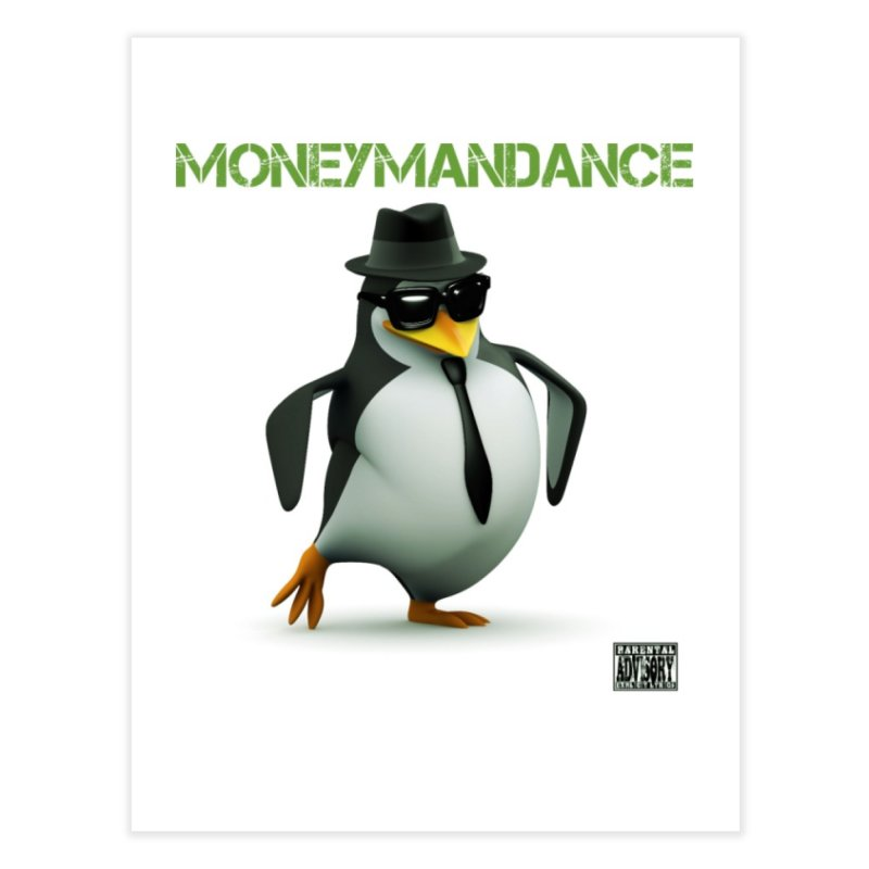 #MoneymanDance Home Fine Art Print by Ginotopia