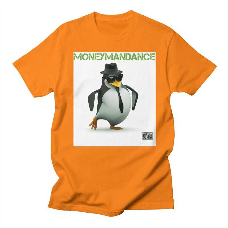 #MoneymanDance in Men's Regular T-Shirt Orange by Ginotopia