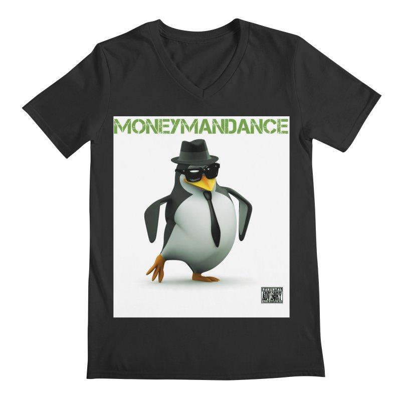 #MoneymanDance Men's Regular V-Neck by Ginotopia