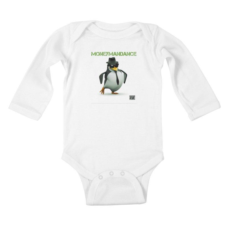 #MoneymanDance Kids Baby Longsleeve Bodysuit by Ginotopia