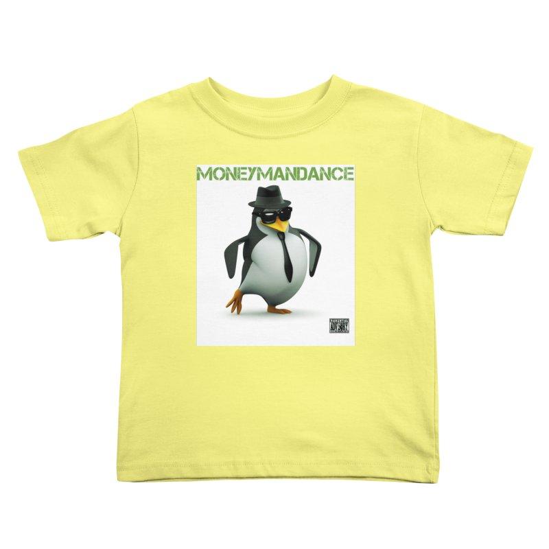#MoneymanDance Kids Toddler T-Shirt by Ginotopia