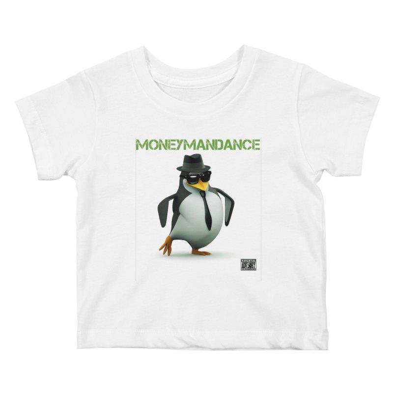 #MoneymanDance Kids Baby T-Shirt by Ginotopia