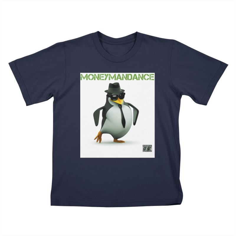 #MoneymanDance Kids T-Shirt by Ginotopia