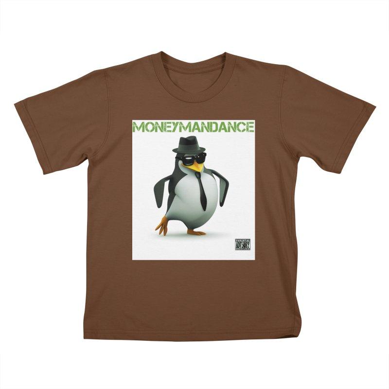 #MoneymanDance Kids T-Shirt by Ginotopia
