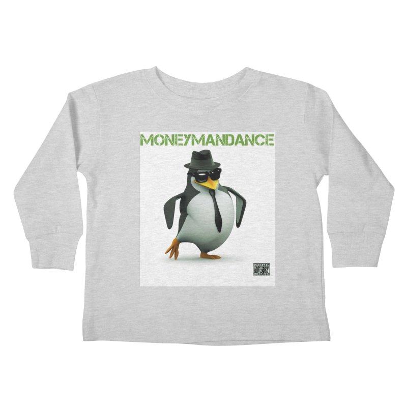 #MoneymanDance Kids Toddler Longsleeve T-Shirt by Ginotopia