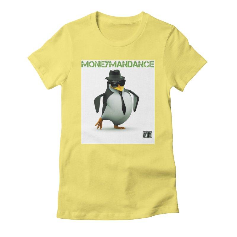#MoneymanDance Women's Fitted T-Shirt by Ginotopia