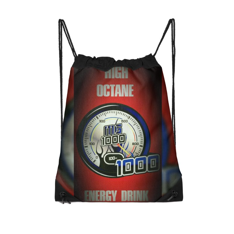 High Octane Accessories Drawstring Bag Bag by Ginotopia