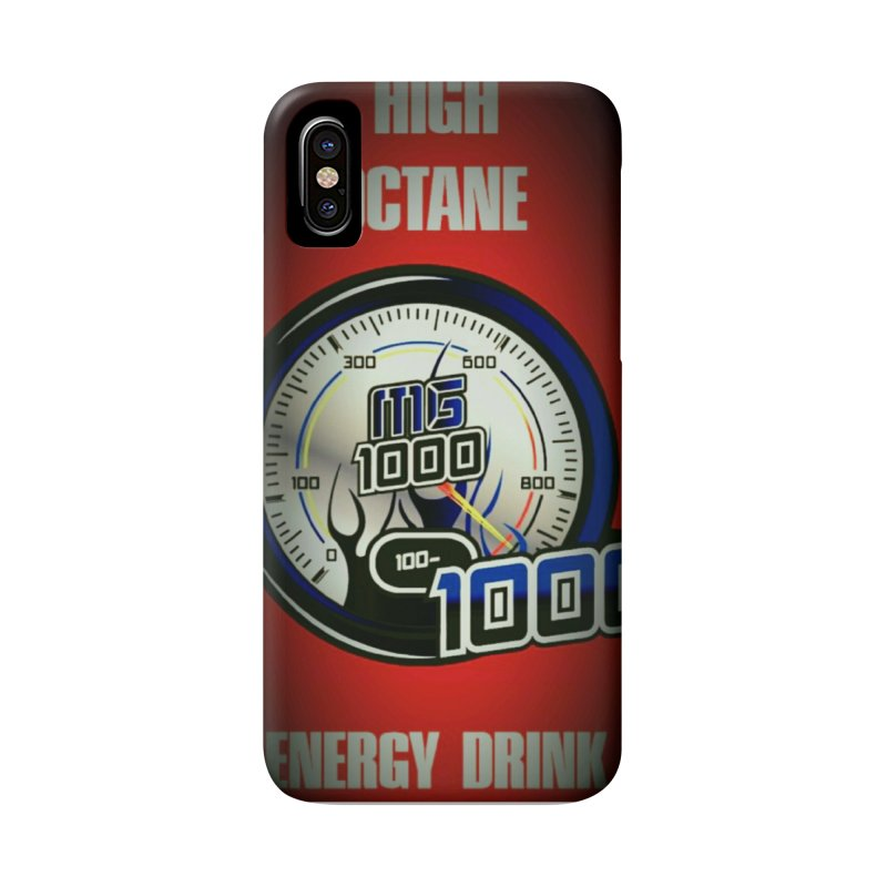 High Octane in iPhone X / XS Phone Case Slim by Ginotopia