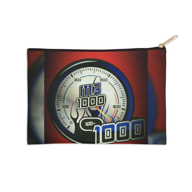High Octane Accessories Zip Pouch by Ginotopia