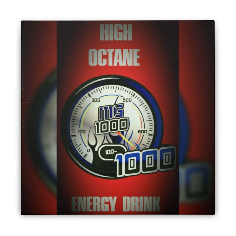 High Octane Home Stretched Canvas by Ginotopia