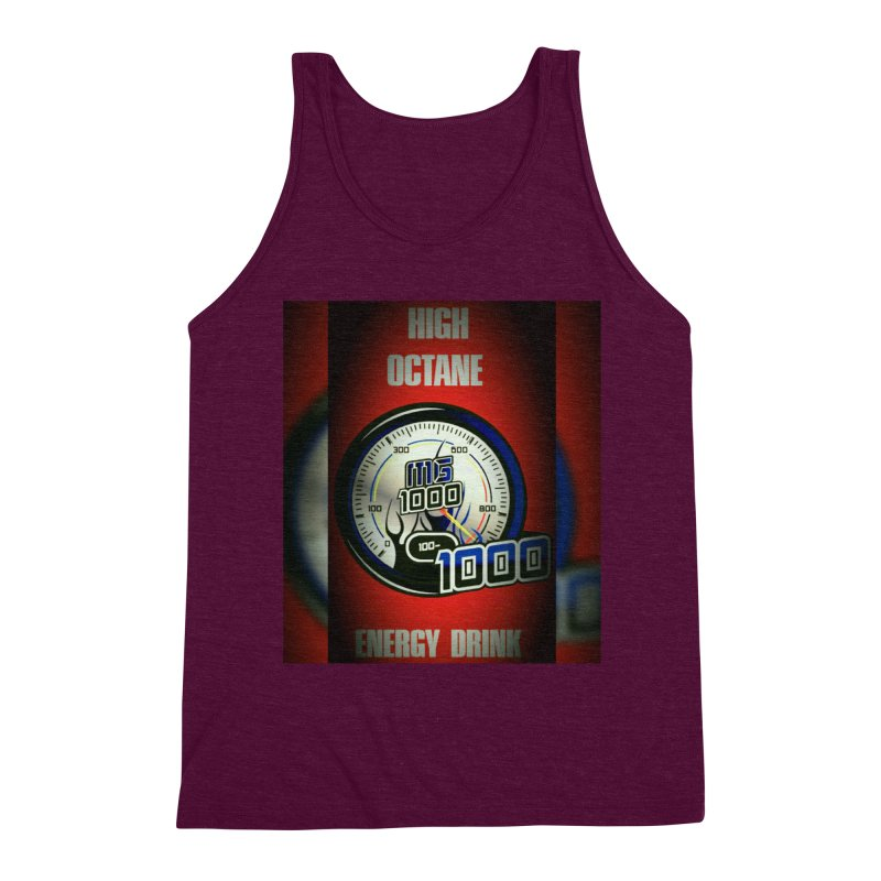 High Octane Men's Triblend Tank by Ginotopia