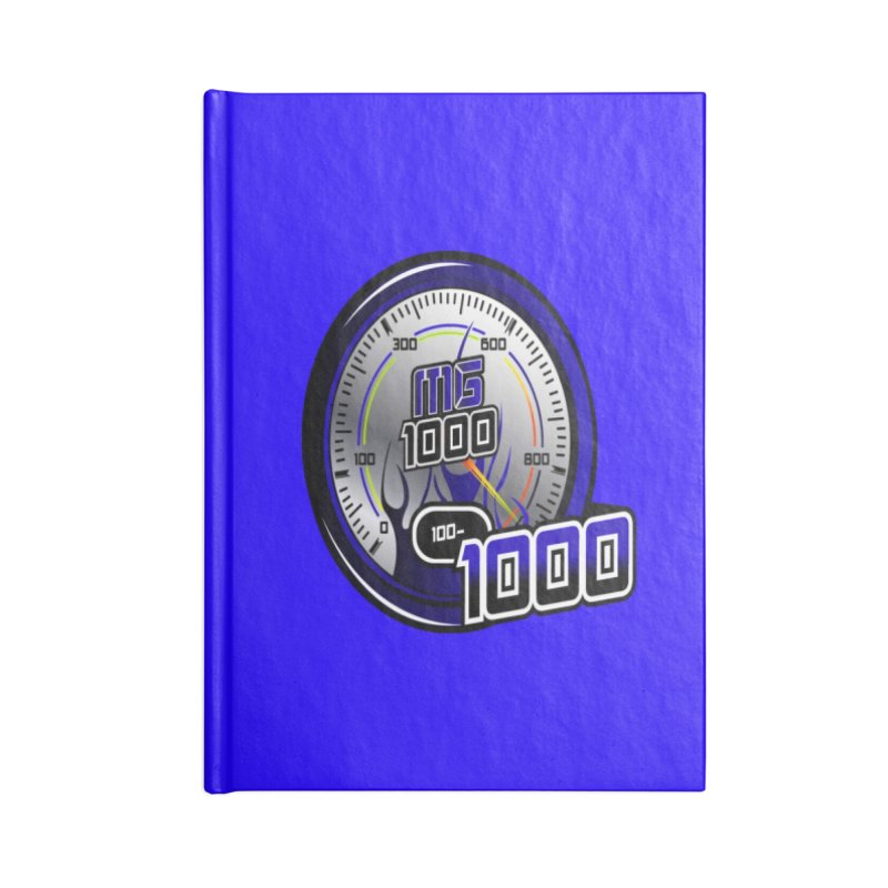 MG1000 Accessories Blank Journal Notebook by Ginotopia