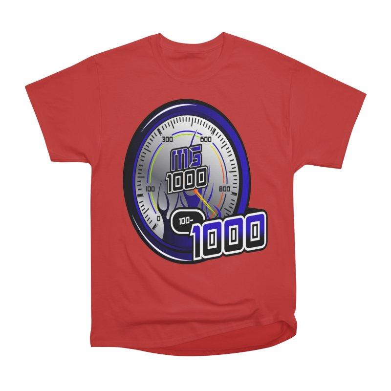 MG1000 Men's Heavyweight T-Shirt by Ginotopia