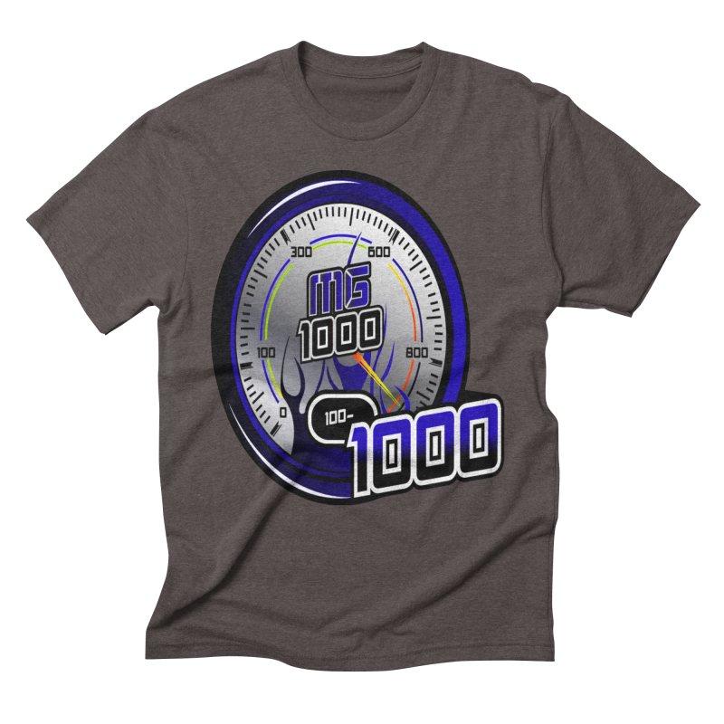 MG1000 Men's Triblend T-Shirt by Ginotopia