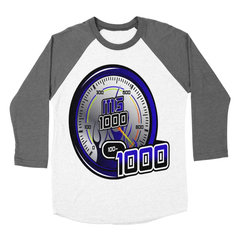 MG1000 Women's Baseball Triblend Longsleeve T-Shirt by Ginotopia