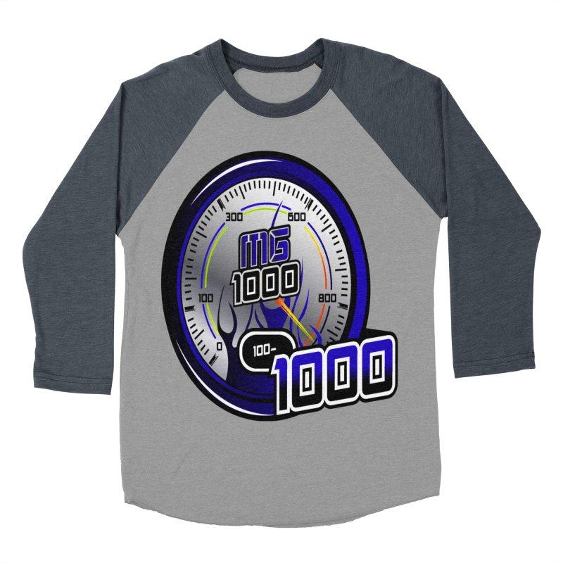 MG1000 Men's Baseball Triblend Longsleeve T-Shirt by Ginotopia