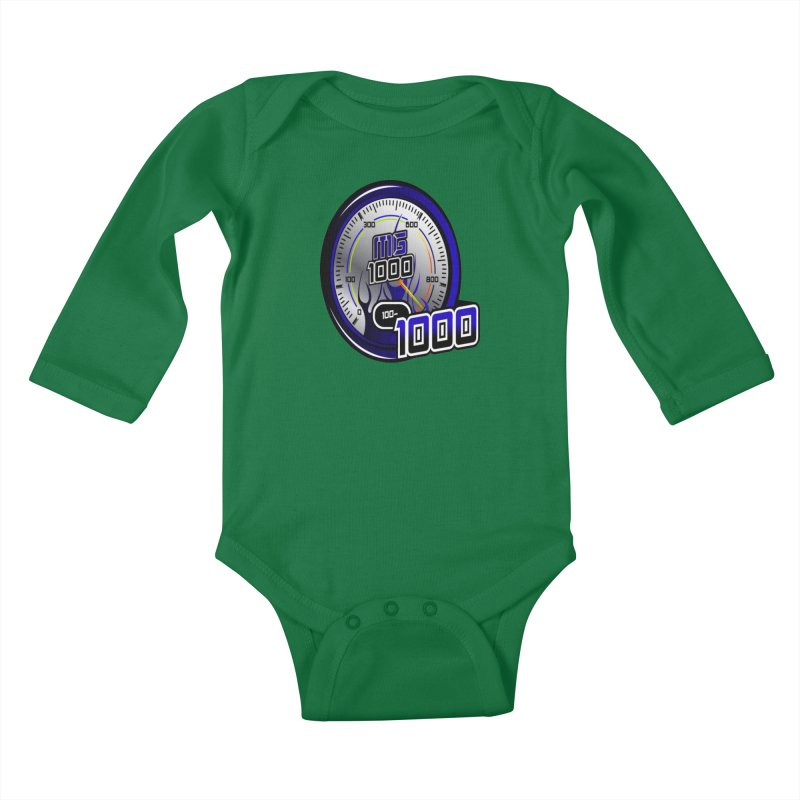 MG1000 Kids Baby Longsleeve Bodysuit by Ginotopia